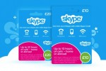Skype prepaid cards hit UK