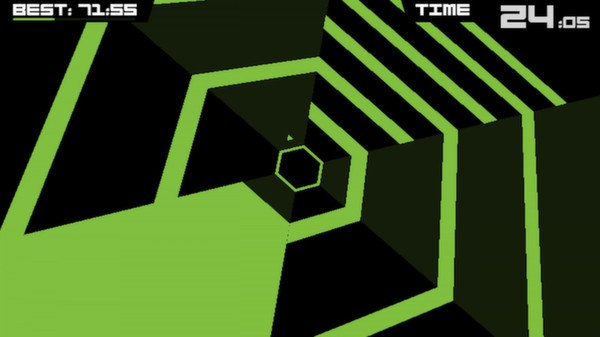 Super Hexagon now available on Steam