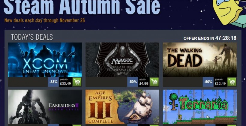 Do we really need the Steam autumn sale?