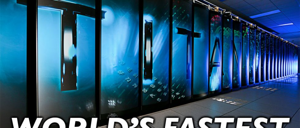 NVIDIA-powered Titan becomes world's fastest Supercomputer
