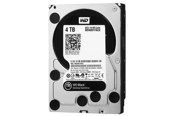Western Digital Black line gets 4TB drive