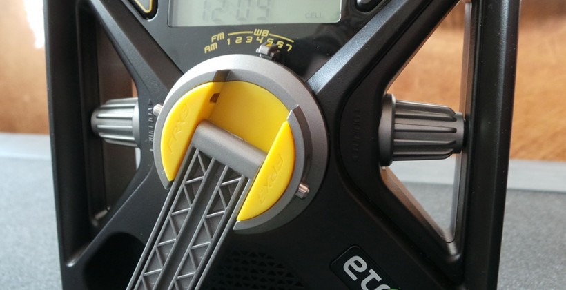 Eton FRX3 hand turbine Radio and USB Charger Review