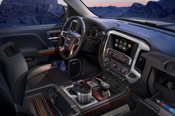 2014-GMC-Sierra-SLT-Interior-storage-detail-023-medium
