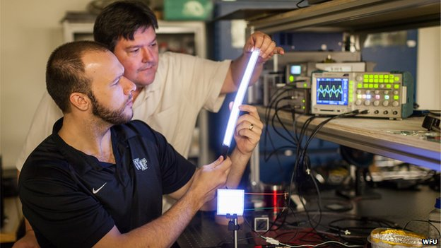 Plastic light bulbs to replace fluorescent lighting next year