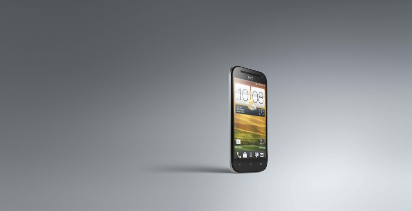 HTC One SV 34 Front Glacier white