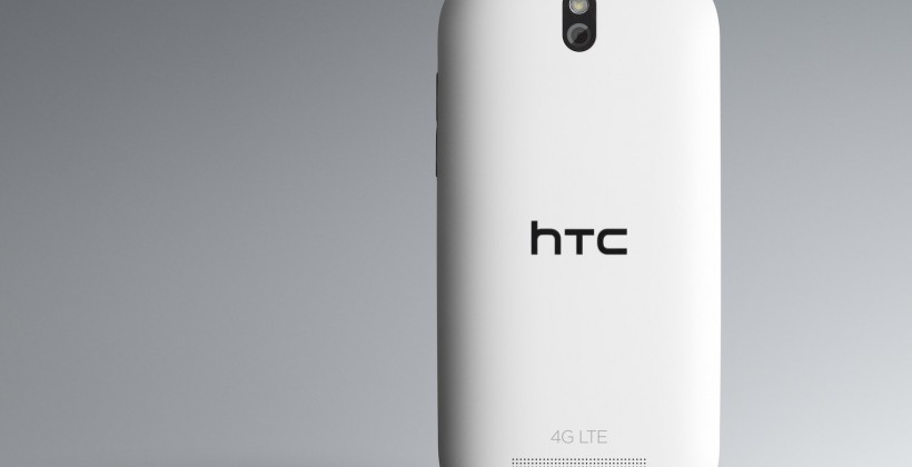 HTC One SV Back Glacier white 4G