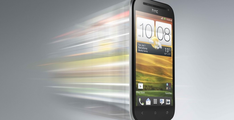 HTC One SV Whizz Glacier white