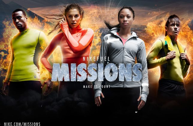Nike unveils NikeFuel Missions game