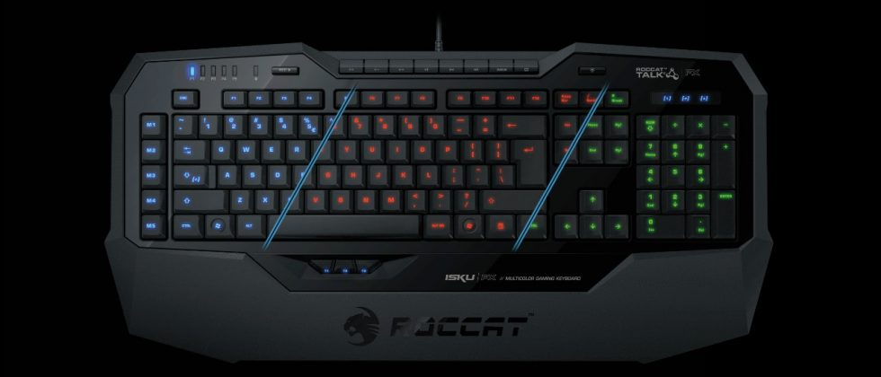 ROCCAT launches Isku FX gaming keyboard