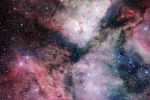 New 268-megapixel telescope takes first image of Carina Nebula