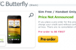 HTC Butterfly hits pre-order status in UK [UPDATE]