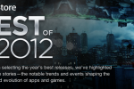 "Apple reveals ""Best of 2012″ in the iTunes App Store"