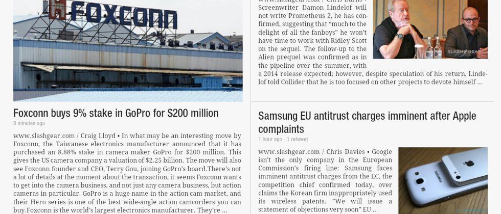 Flipboard hits Android tablets with Samsung-aided optimization