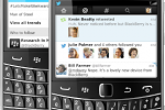Twitter for BlackBerry updates with Connect and Discover tabs
