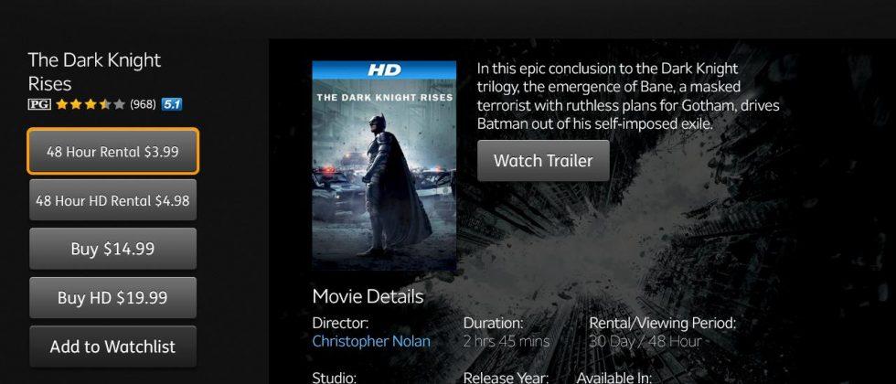 Amazon Instant Video app hits Google TV