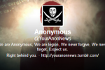 Twitter pulls the plug on Anonymous