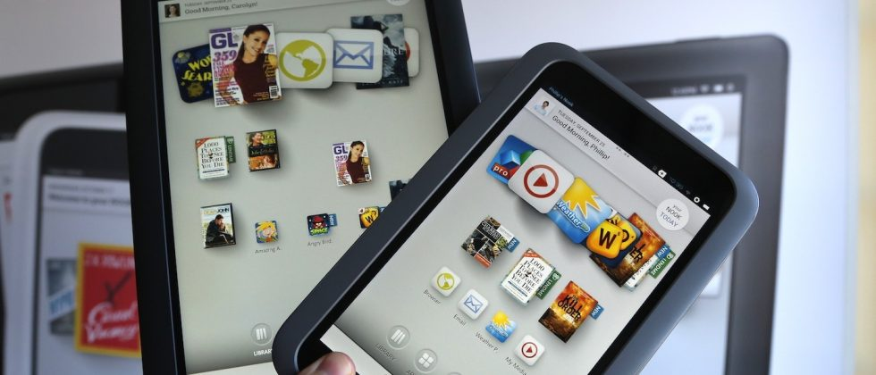 NOOK HD and HD+ take Kindle's former place on Walmart shelves