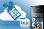 Xperia extends its partnership with Box into 2013