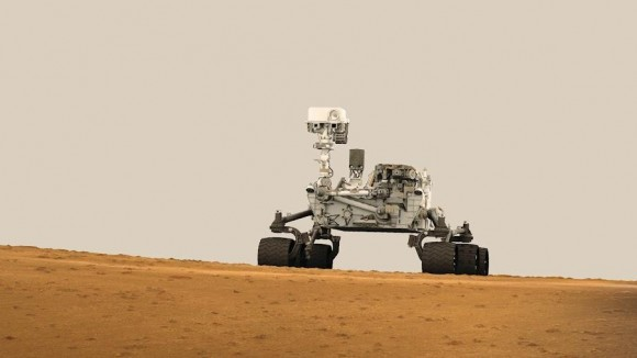 "NASA's Curiosity Mars rover will deliver a ""special message"" in Times Square tonight"