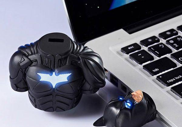Dark Knight Rises flash drive is a bust of Batman