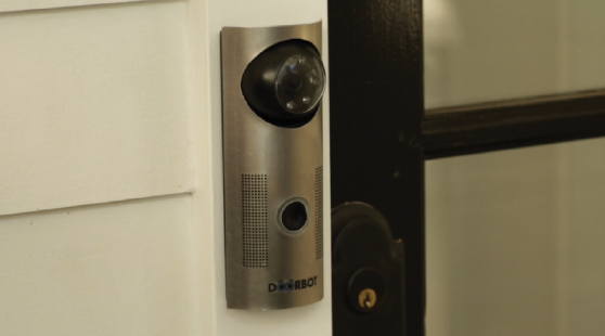 DoorBot lets you see who is knocking via your mobile device