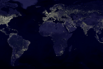 NASA shows off stunning images of the earth at night
