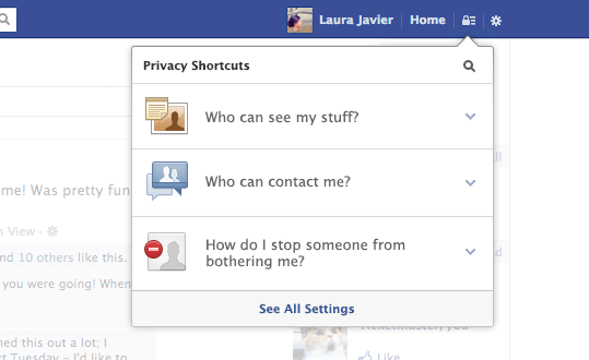 Facebook Privacy Settings changes run-down (December 2012)