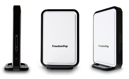 FreedomPop Hub Burst offers free wireless home internet