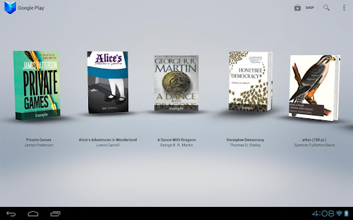 """Google Play Books updates with """"Read Aloud"""" and zoom capabilities"""