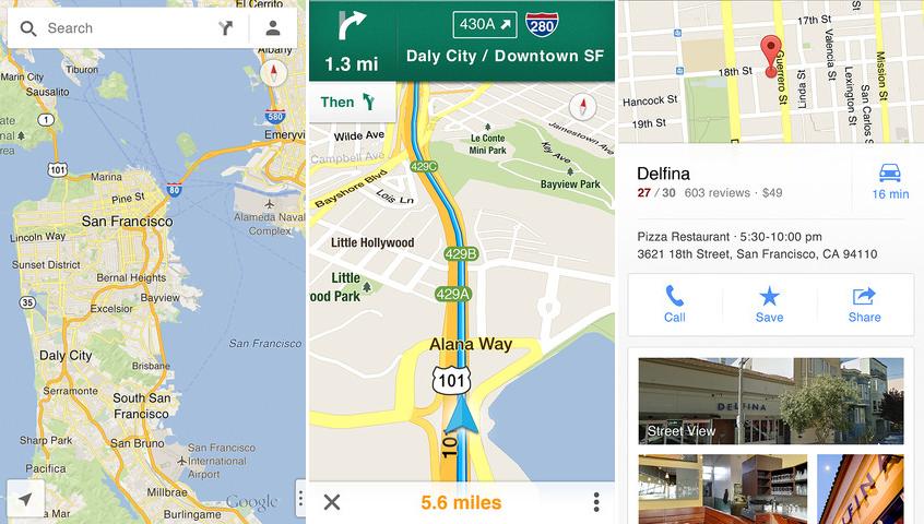Google Maps Geschwindigkeit Ios