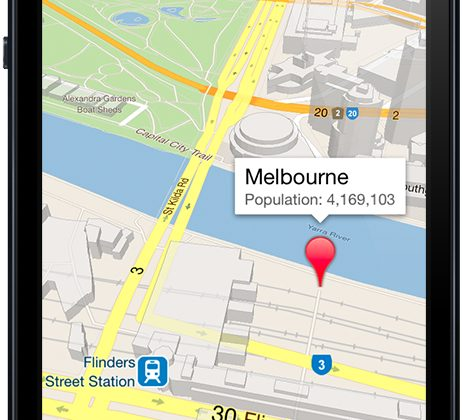 Google wants to retake all iOS Mapping with new SDK