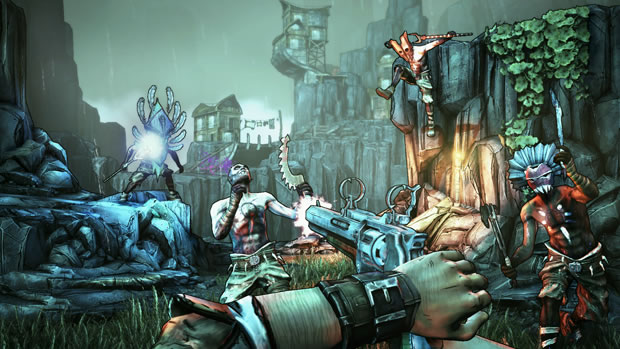Borderlands 2 Hammerlock DLC dated, level cap increase coming next year