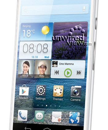 Huawei Ascend D2 leaks for CES 2013 with smartphone press photo