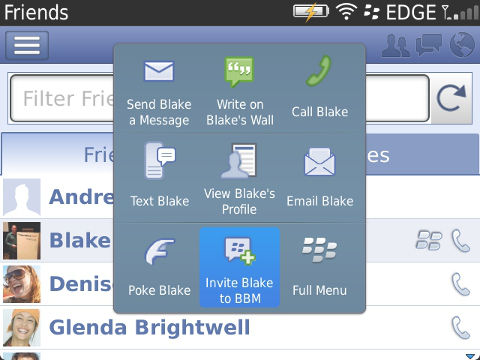 Facebook for BlackBerry updated with new look, features