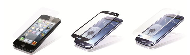 Seidio unveils new tempered glass screen protector for iPhone 5 and Galaxy S III