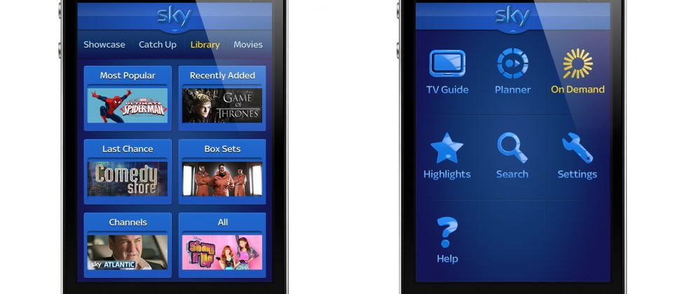 Sky+ app turns On Demand remote with iPhone/iPad update