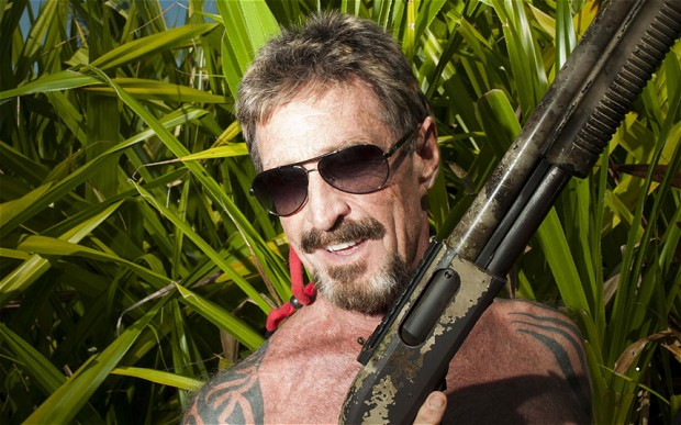 McAfee, antivirus pioneer turned fugitive, sells his life story