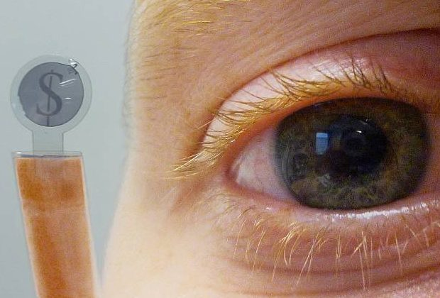 Researchers develop LCD-based contact lens display
