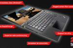Lenovo announces the Windows 8-optimized ThinkPad X1 Carbon Touch