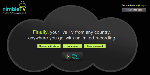 NimbleTV launches beta in New York, offers TV anywhere