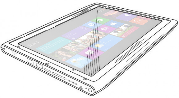 Nokia Windows RT tablet to feature keyboard cover with its own battery