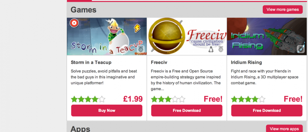 Raspberry Pi app store launches