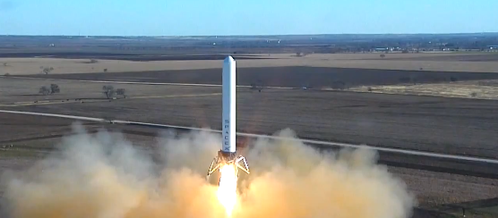 SpaceX's latest reusable rocket test sends Grasshopper 131 feet