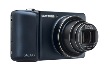 Verizon Samsung Galaxy Camera 4G LTE made official in Cobalt Black
