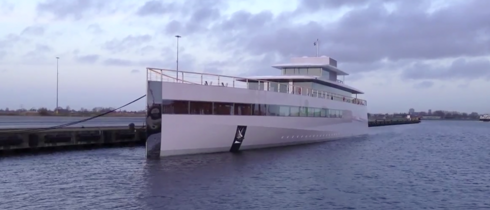 Steve Jobs' Venus yacht shown in fresh footage