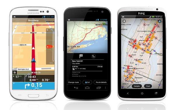 TomTom updates Android navigation app