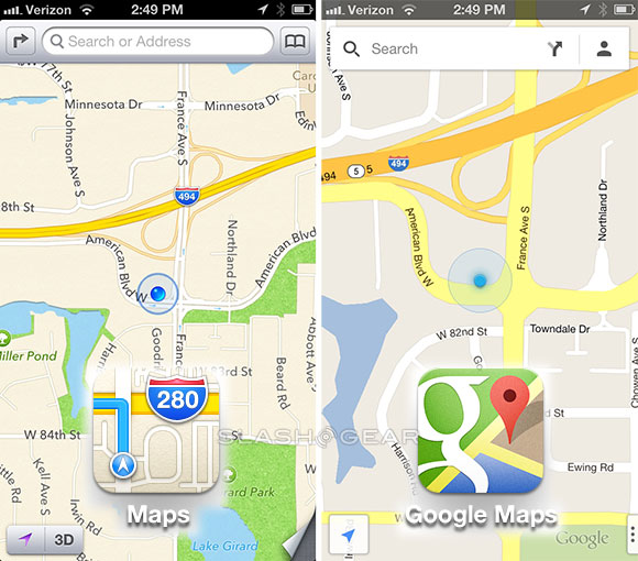 Set Google Maps as the default maps app on iOS with a few tweaks