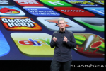 Apple CEO Tim Cook talks competition, addresses Samsung ad