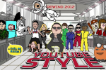 Rewind YouTube Style 2012: Psy leads YouTube star mash-up
