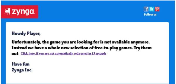 Zynga shutters 11 of its social video games